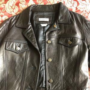 Vintage Bebe Leather Jacket